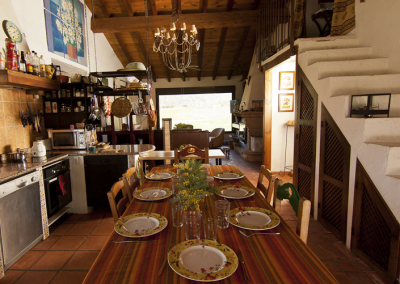 Casa de Las Cigüeñas Cocina comedor