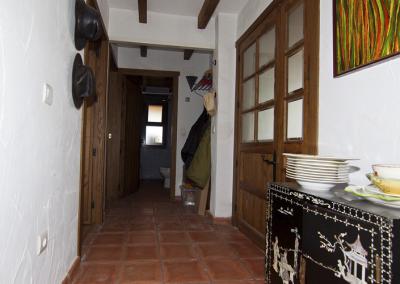 Casa de Las Cigüeñas pasillo habitaciones