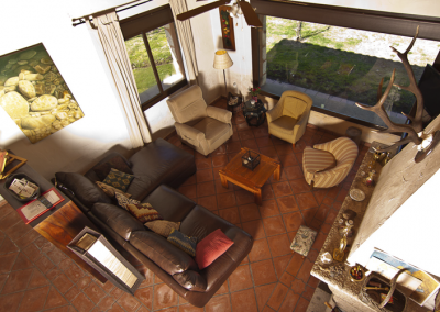 Casa de Las Cigüeñas salon